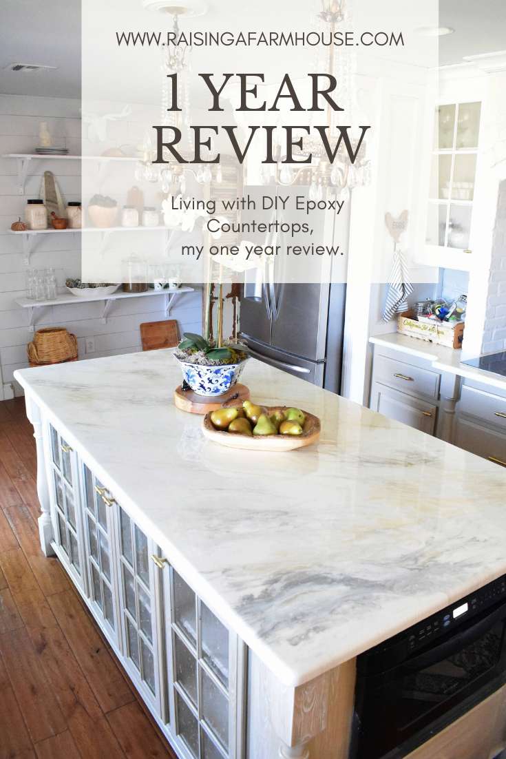 Stone Coat Countertop One Year Review Living With Epoxy Countertops Kitchen Remodel Countertops Diy Countertops