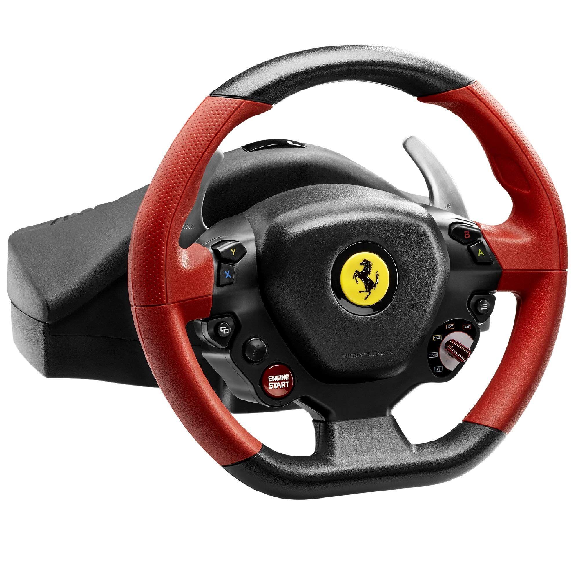 Thrustmaster Ferrari 458 Spider Racing Wheel For Xbox One Ferrari