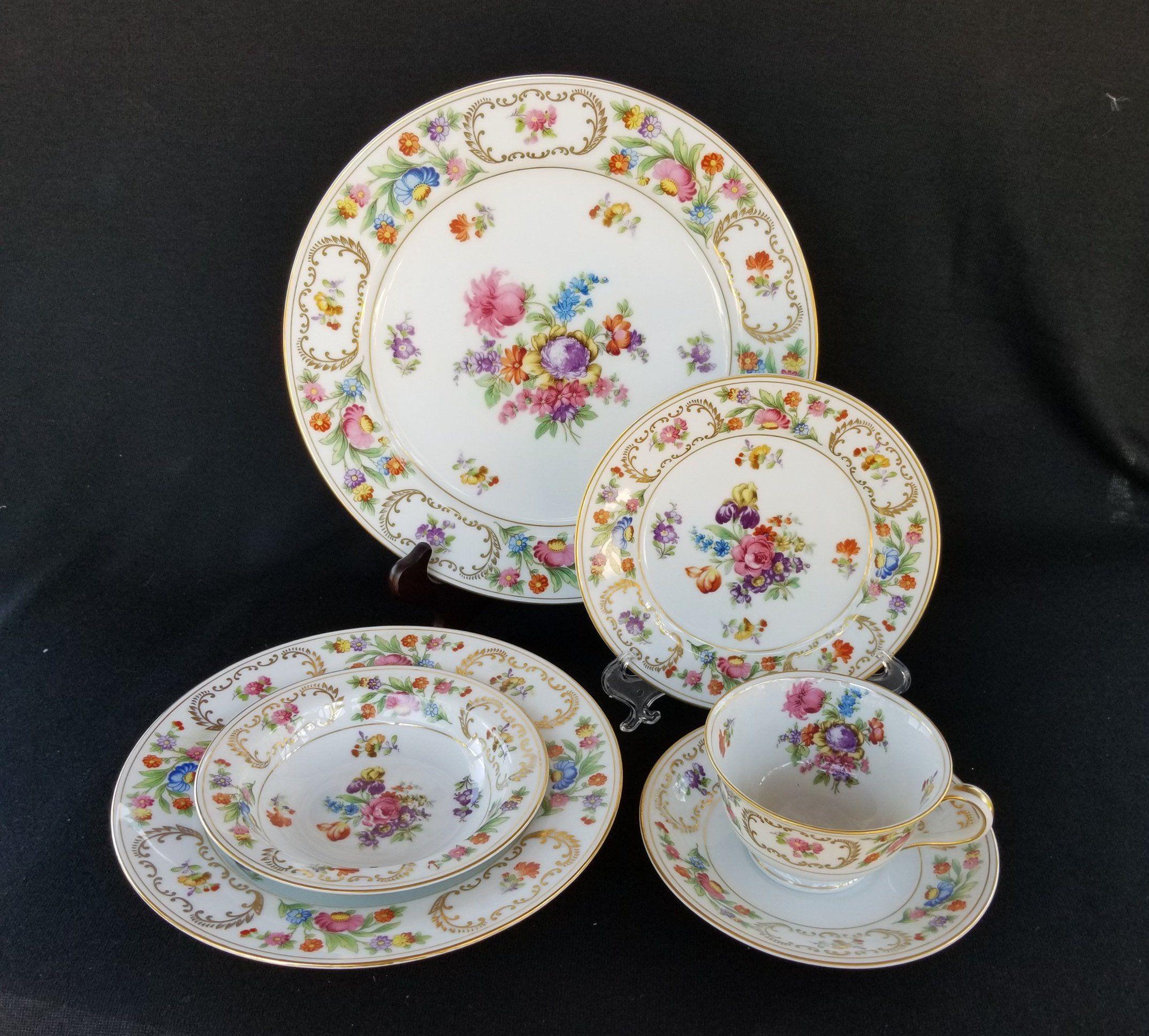 Spring China. Vintage Noritake China Dresalda Pattern