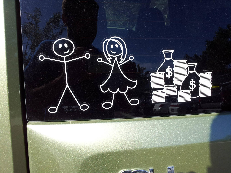 Dink car back window stickers ht reddit stick family window stickers car