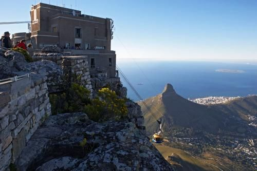 Table Mountain Cable Cars.