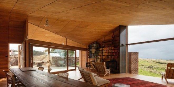 Wohnzimmer \/\/ Holz Haus \/\/ Wohnzimmer Pinterest - moderne holzdecken wohnzimmer
