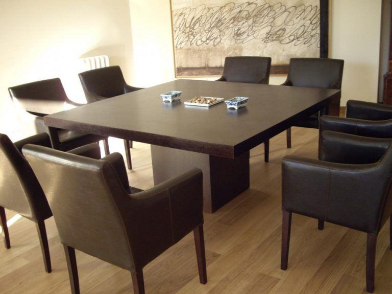 Incredible 12 Seater Square Dining Table Dining Room Seat Square