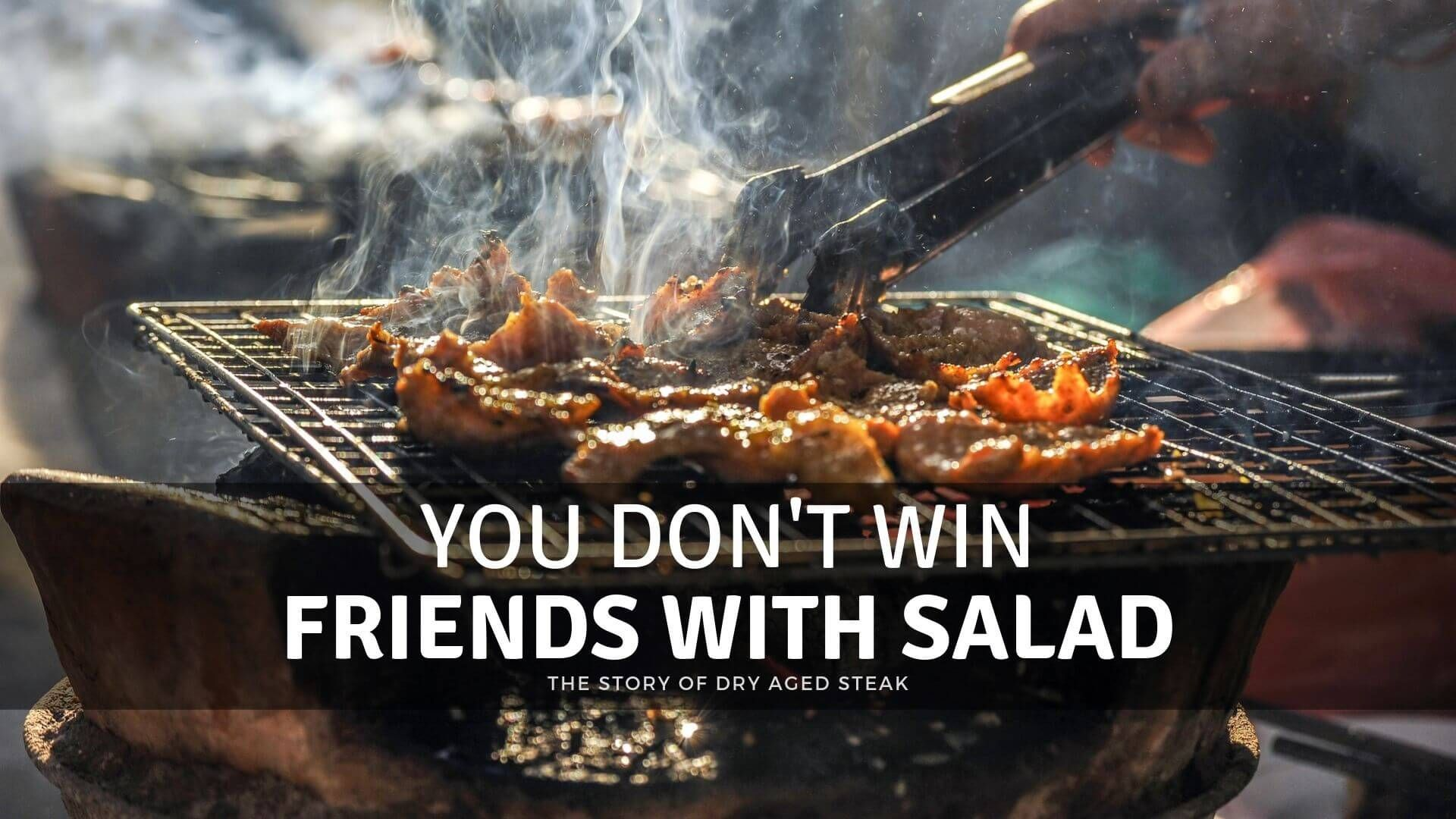 You Don't Win Friends With Salad Bbq restaurant, Bbq