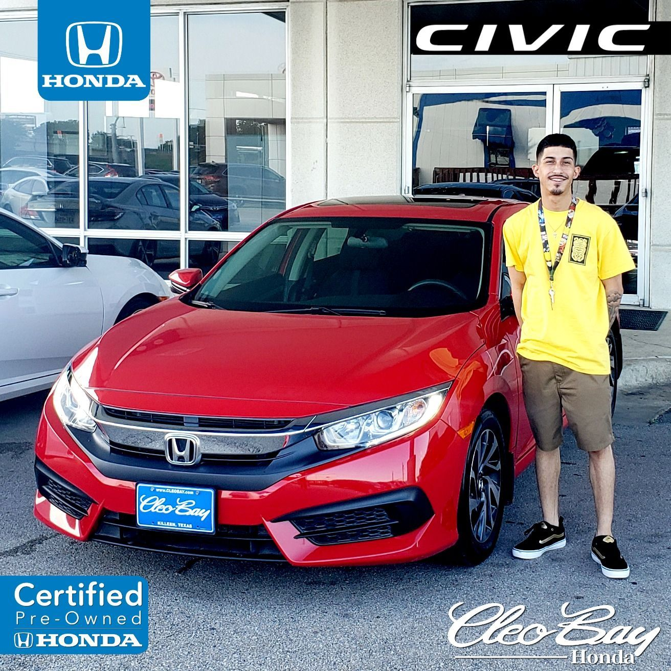 Congratulations Lee on your recent purchase of a Certified