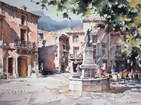 Christian Graniou Isabelle Haas Art De Paysage Urbain Ville