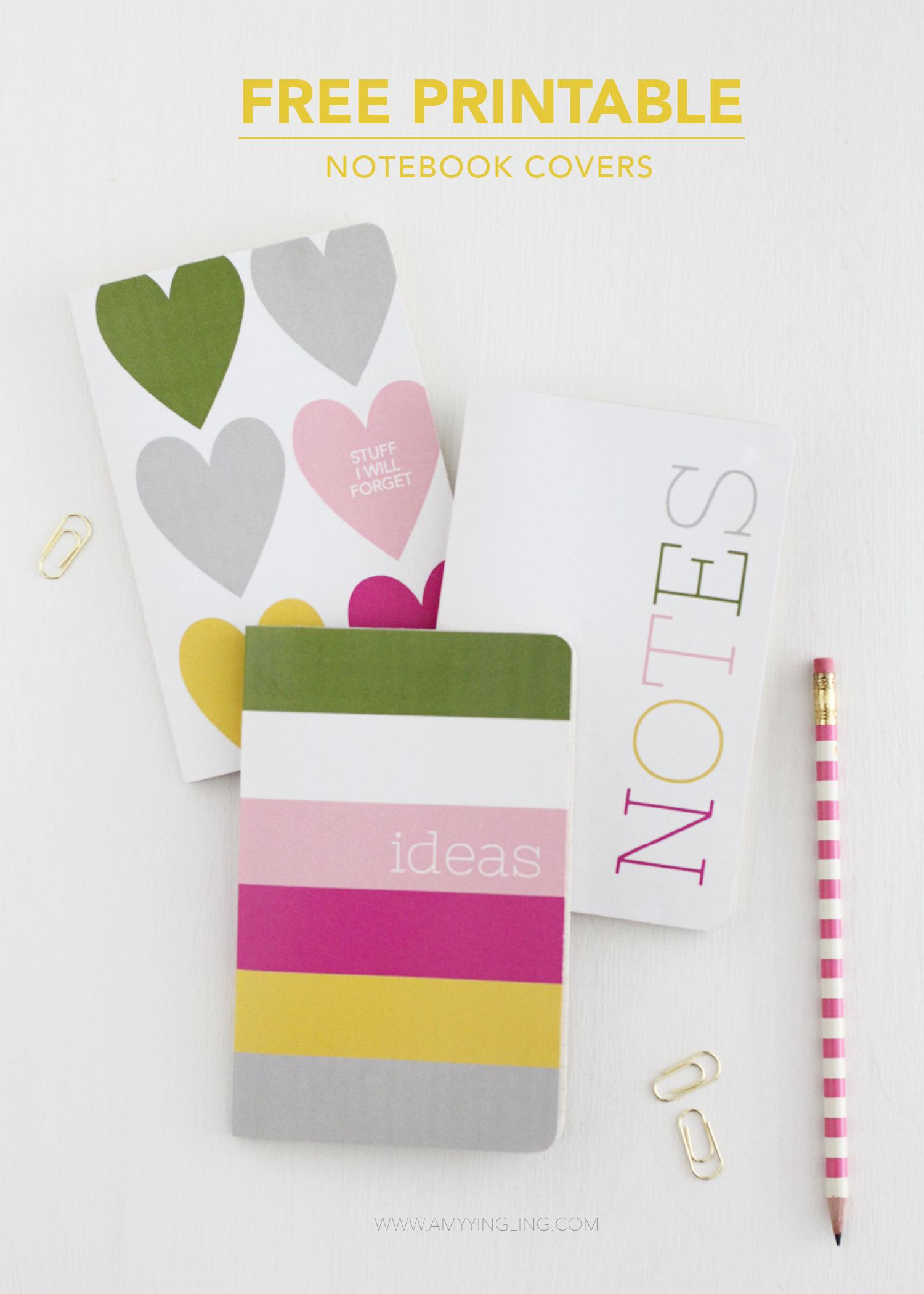DIY Mini Notebooks Mini notebooks, Notebook covers, Notebook