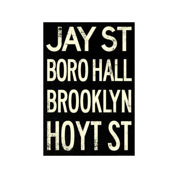 New York City Brooklyn Jay St Vintage RetroMetro Subway Poster ...