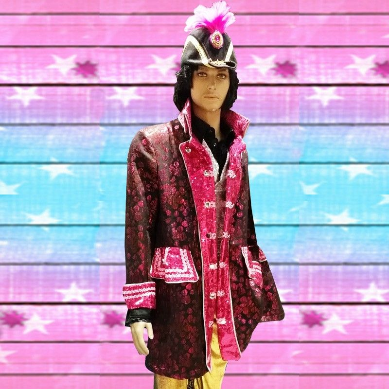 303f66934b15df Brokaat jas luxe roze - PW Hoofs