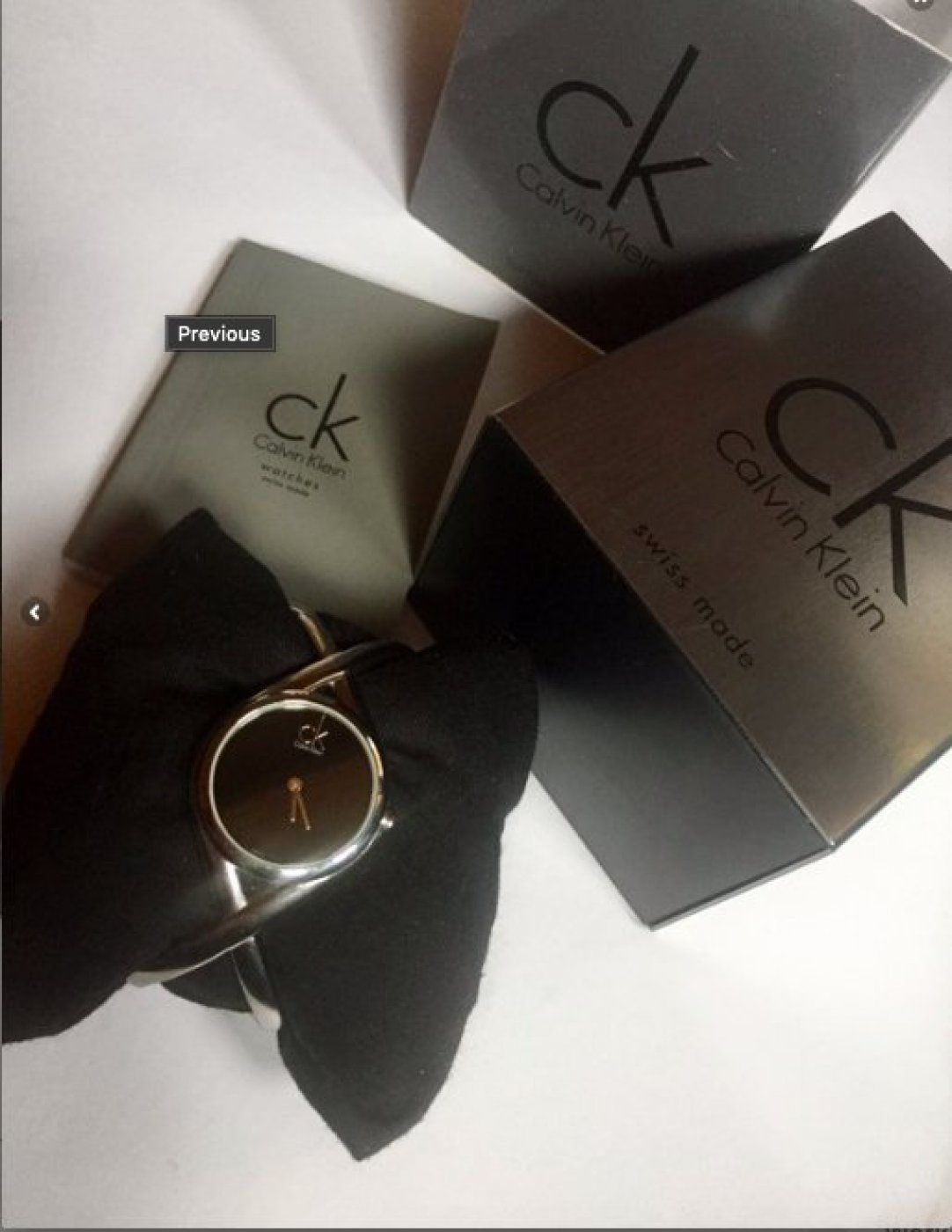 calvin klein elegant watch like new in 2020 on watchman on the wall calvin id=71583