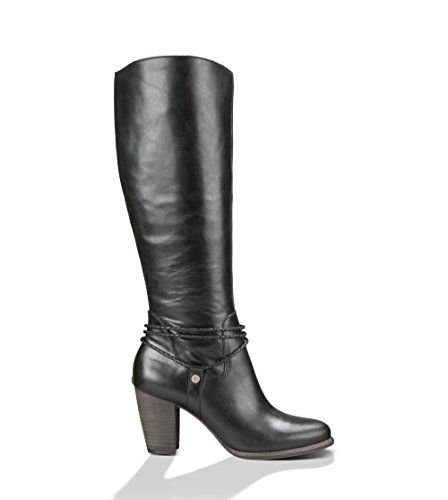 Womens Boots UGG Neoma Black Leather