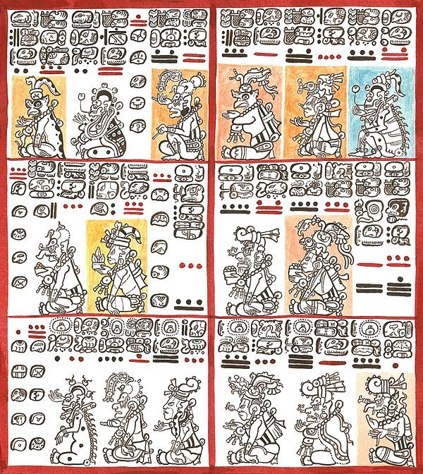 Maya Codices 1500yrs Of Knowledge All But 4 Survived Bishop Diego De Landa In July 12 1562 Burning Of Th Anime Drawing Books Drawings Best Anime Drawings