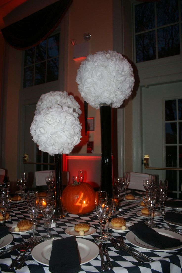 Wedding decoration ideas red and white  Halloween Wedding Decoration Ideas  Wedding ideas  Pinterest