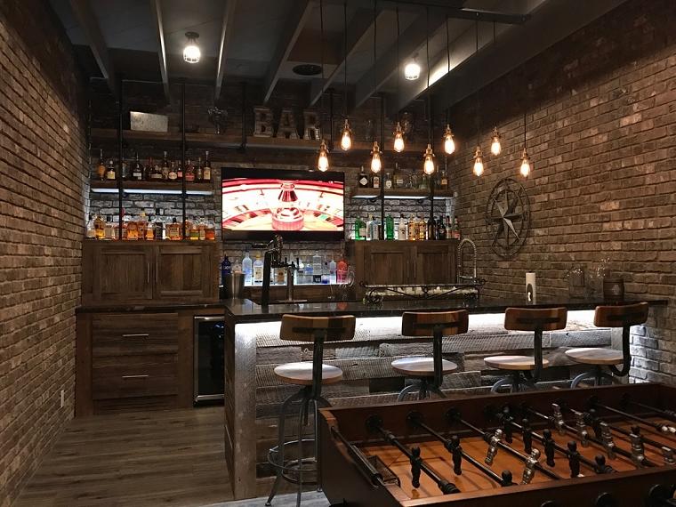 Come arredare una taverna bar taverna moderna in