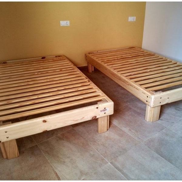 Cama Somier madera Fustaforma | Somier, Camas y Madera