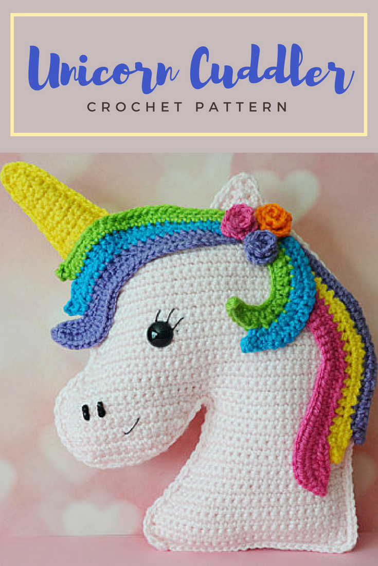 This crochet cuddlerpillow is so cute ladybug would love it