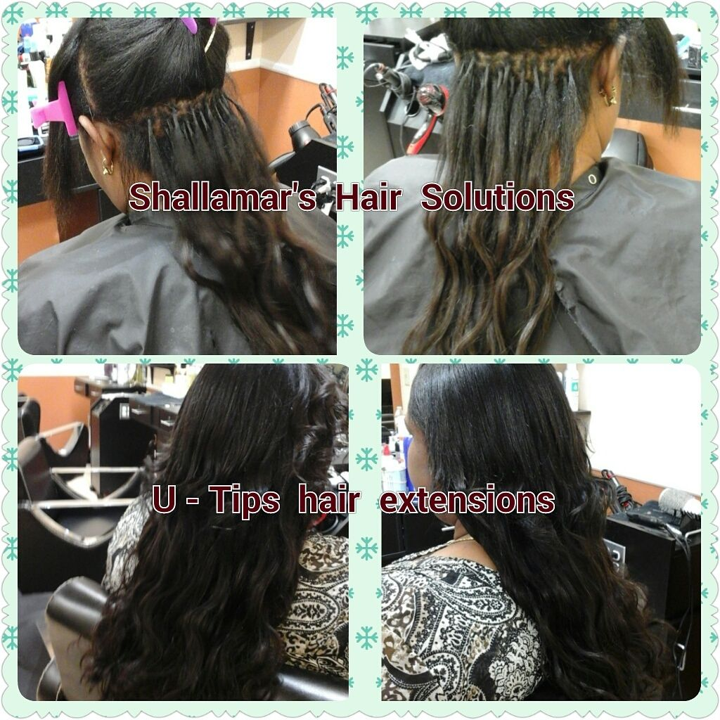 U Tip Hair Extensions Installed Utips Hair Extensions Orlando
