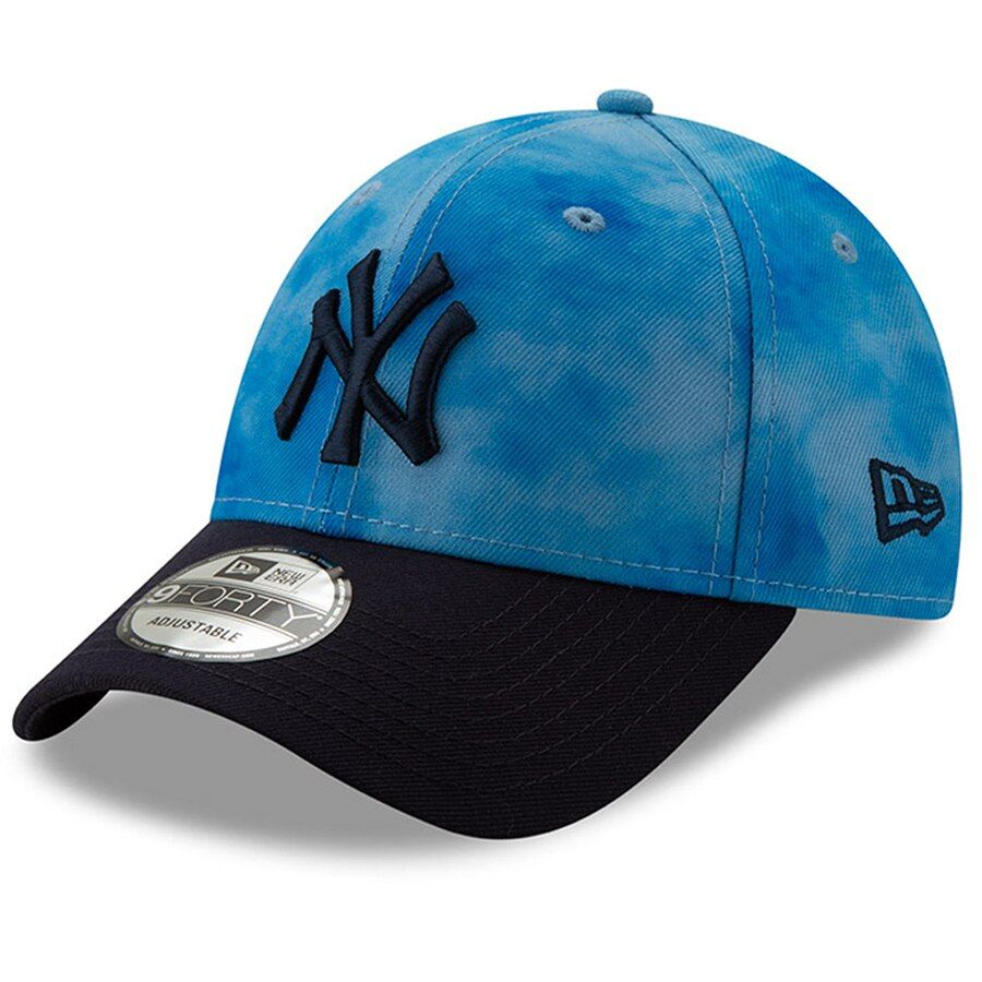 premium selection 7b2e4 fe182 Men s New York Yankees New Era Blue Navy 2019 Father s Day 9FORTY Adjustable  Hat,