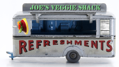 Toy Vintage Food Trailer Use To Display Side Window Functionality Food Trailer Vintage Recipes Food Truck