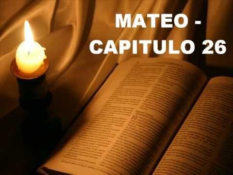 MATEO CAPITULO 26