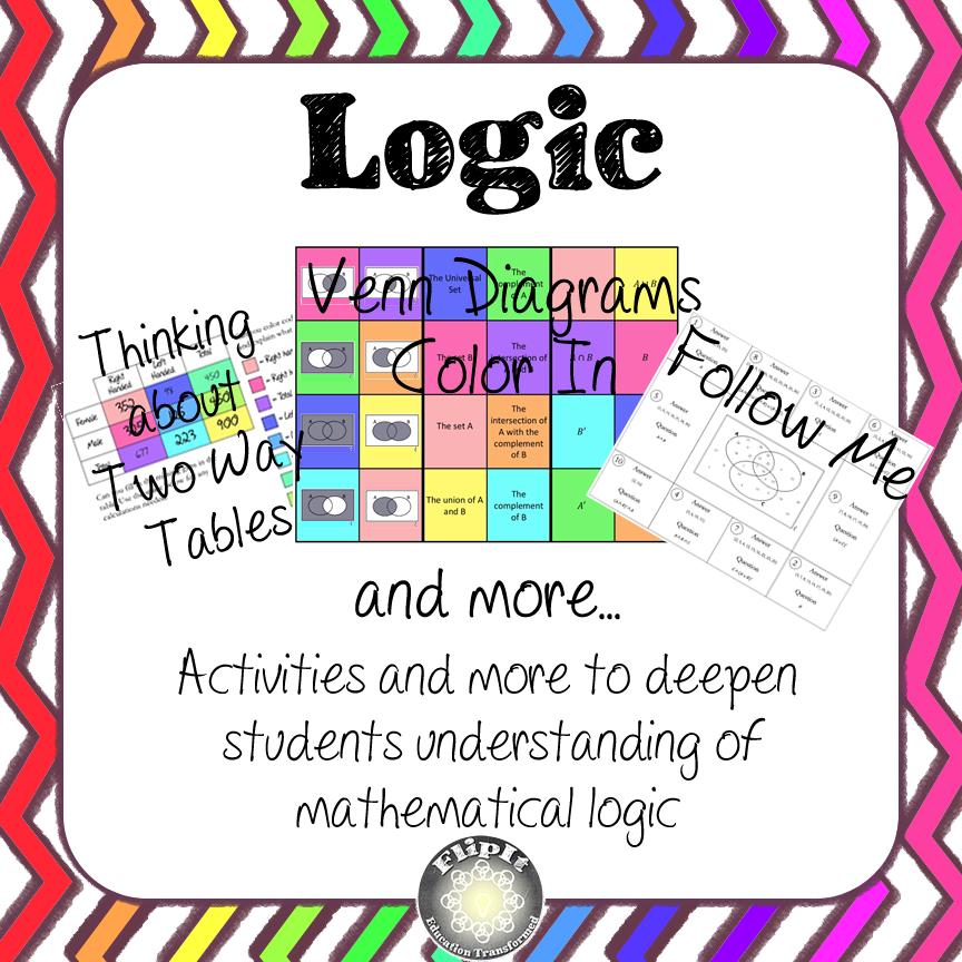 Logic Activities Maths Age 11 12 Resources Pinterest Set
