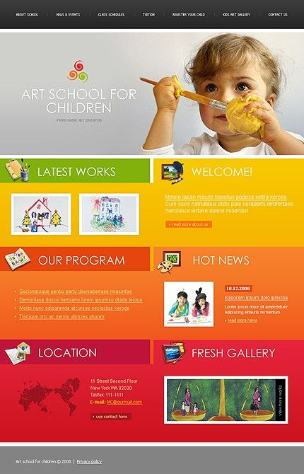 Website Templates For Schools. free website templates free web ...