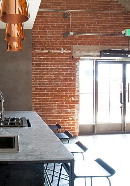 Gorgeous Industrial Kitchen + Patio Event Space For Rent, Find A Loft And  Unique Space