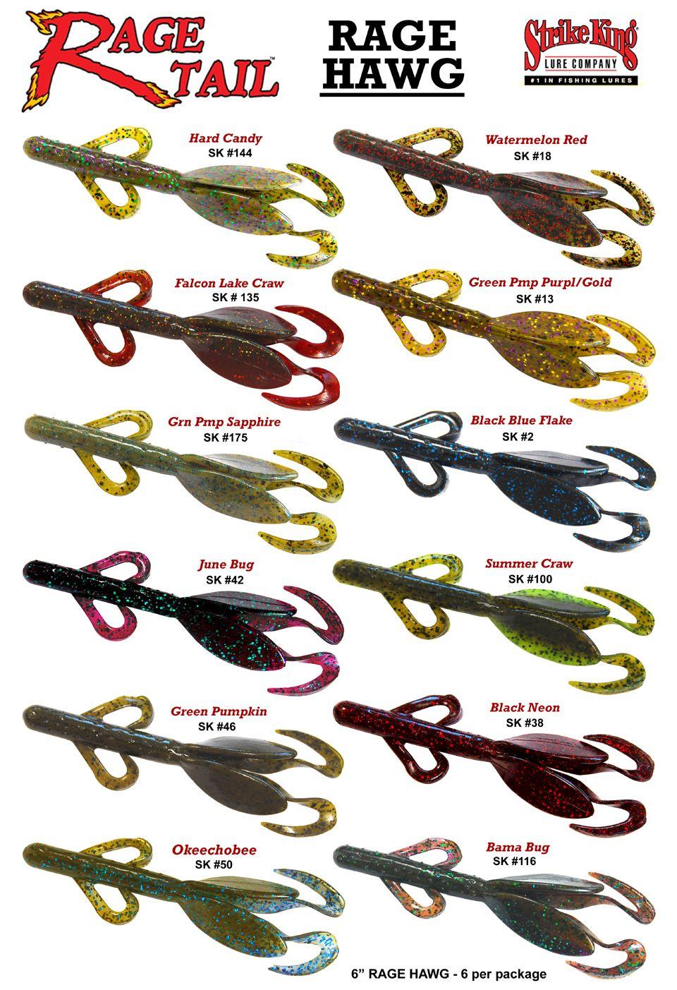 Rage hawg color selection chart fishing pinterest fish bass fishing equipment rage hawg color selection chart nvjuhfo Image collections