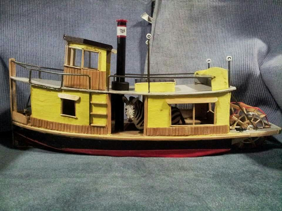 Trailerable sternwheeler 30' | small sternwheeler designs ...