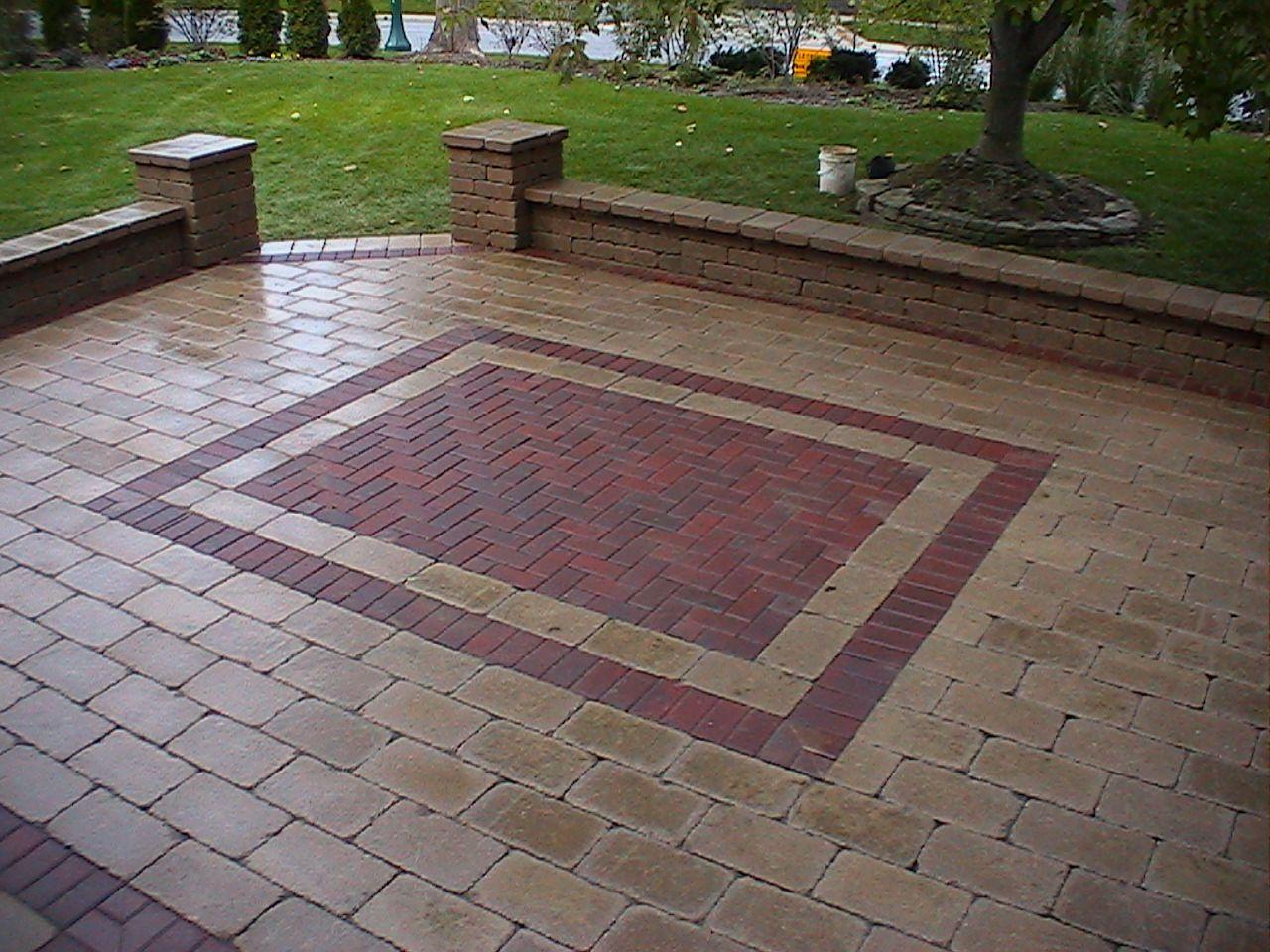 brick patio | Brick patios, Patio design on Red Paver Patio Ideas id=69744