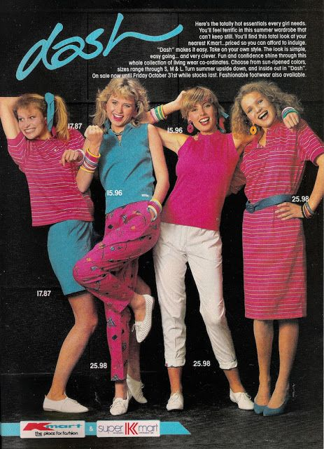 8d6c0f698b79 KMART SUMMER 1986-1987 AD - MY COLOURS - CLASSIC - Glossy Sheen Dolly  Australia