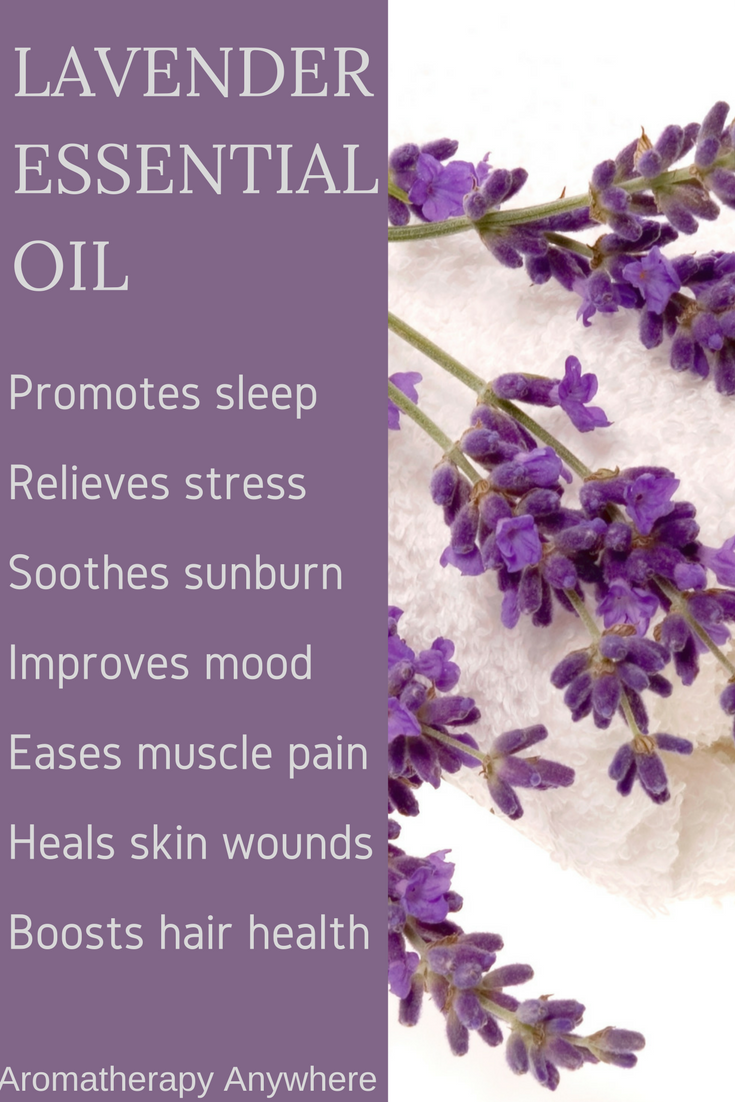 7 Awesome Benefits Of Lavender Essential Oil Aromatherapy Anywhere Lavender Essential Oil Lavender Essential Lavender Benefits
