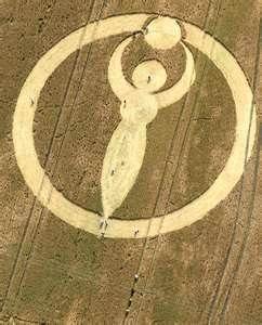 Egyptian crop circles