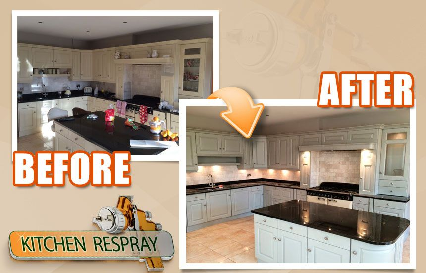 Best Kitchen Respray Cream To Hardwick White Kitchen Respray 400 x 300