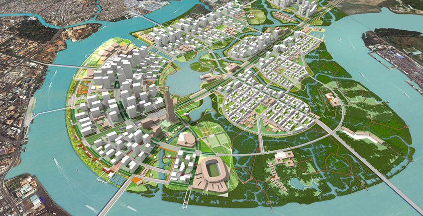 As Thu Thiem Stalls, City Rushes to Lure Investors Viết
