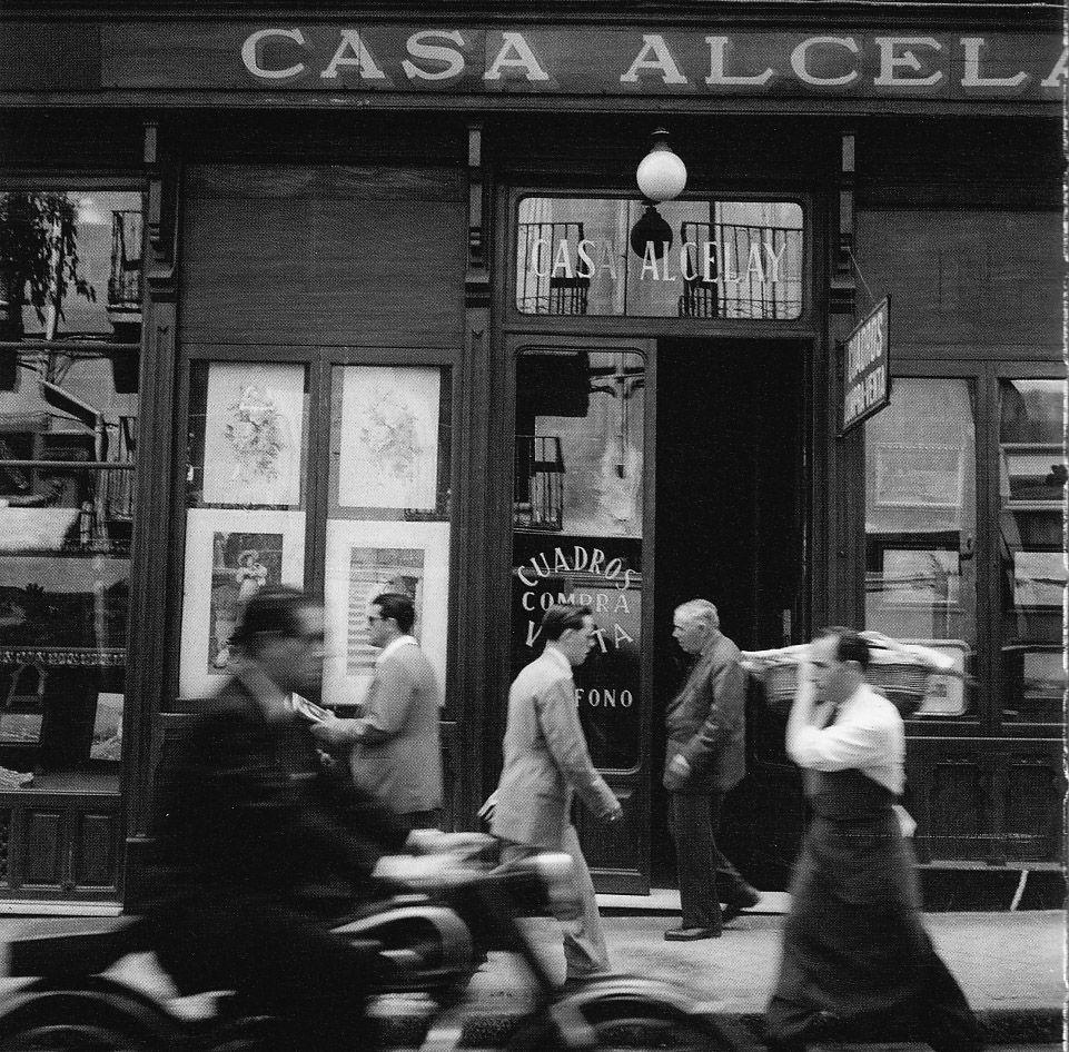 Casa alcelay compraventa de cuadros situada en la calle for Calle del prado 9 madrid espana