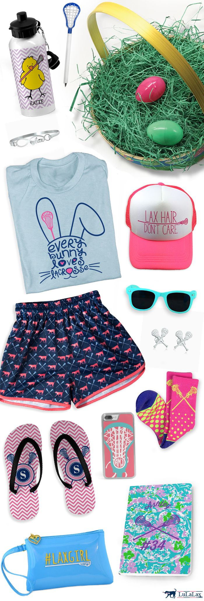 We've got so many fun gift ideas to help you fill up your lax girl's Easter basket! From lacrosse apparel to accessories and more, we've got you covered!