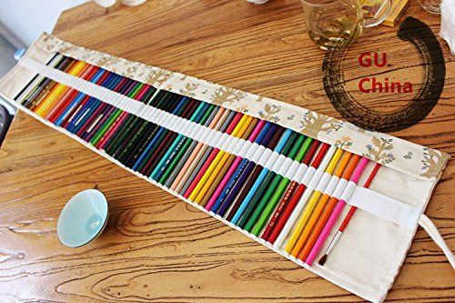 How To Organize Your Colored Pencil Collection Diy Pencil Case Roll Up Pencil Case Canvas Pencil Case