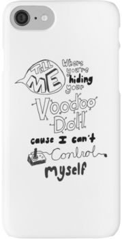 5 Seconds Of Summer Voodoo Doll Lyric Art Iphone Case Cover