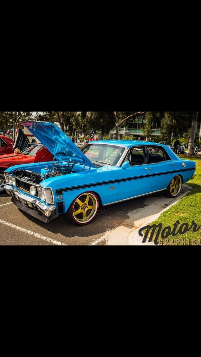This is my 1970 model XW GT Falcon. It\'s a true blue Aussie muscle ...