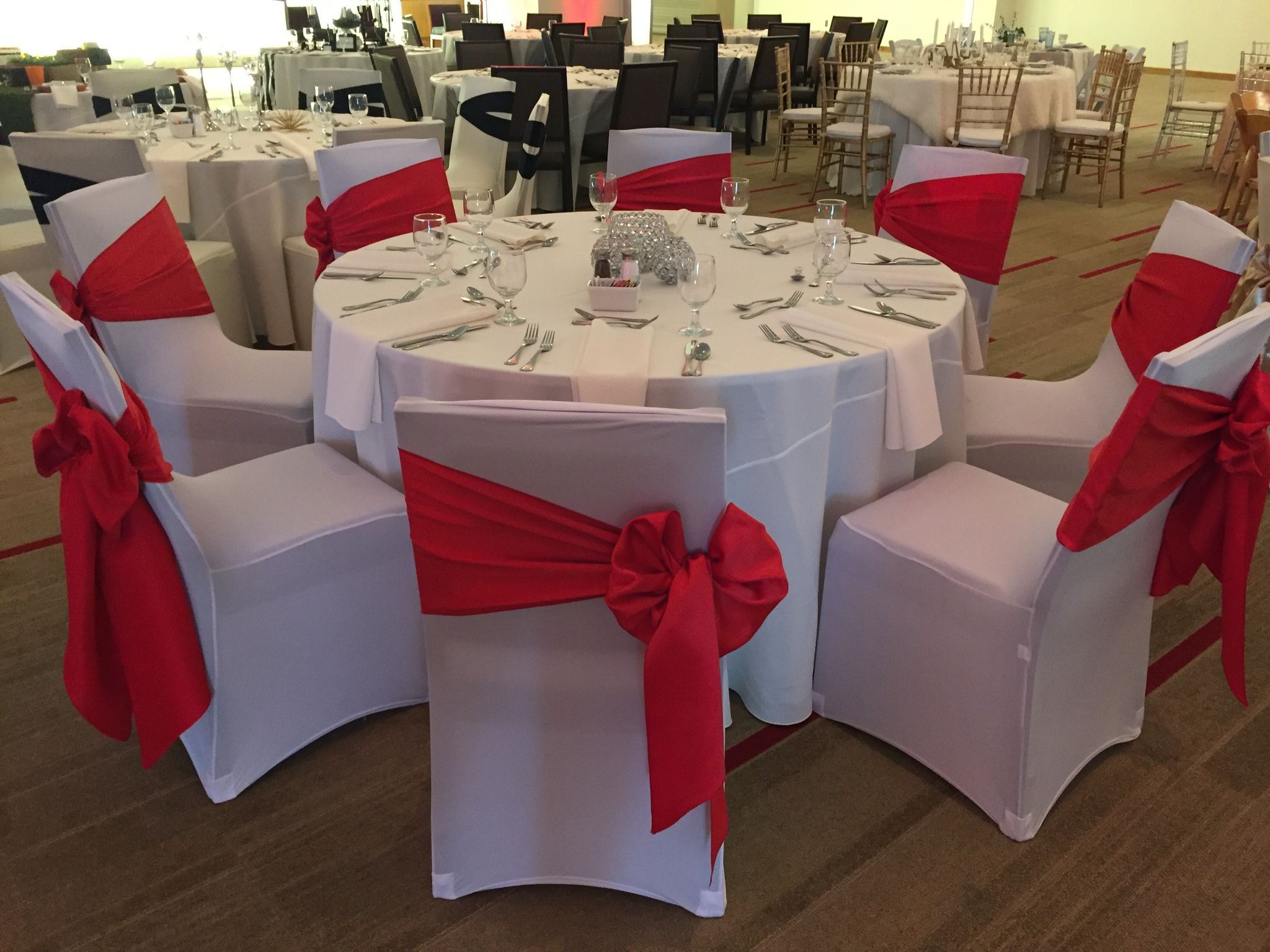 Spandex Covers W Red Satin Bow Spandex Chair Covers Chair