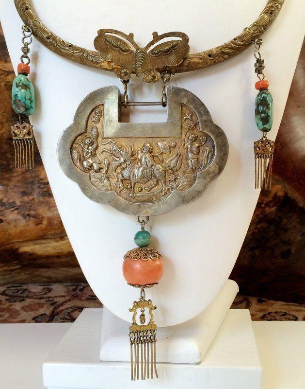Antiques Regional Art Asian Chinese Jewelry Trocadero Love