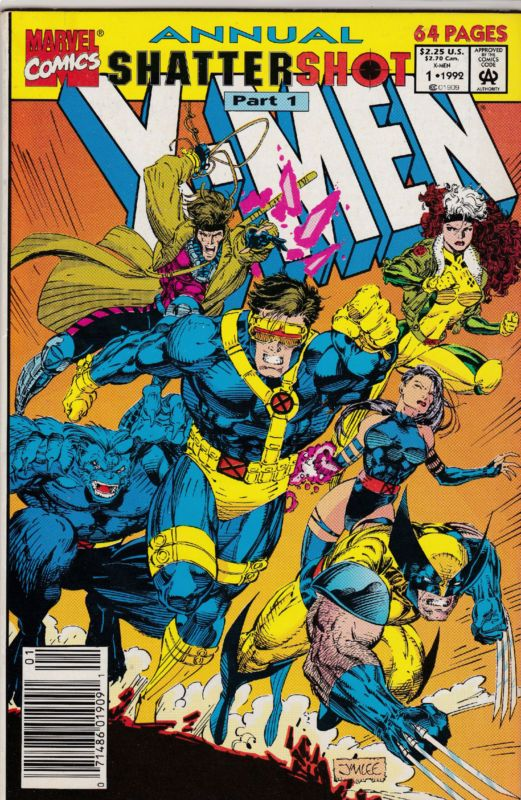X Men Annual Shattershot 1 Marvel Comics Covers Xmen Comics Comics