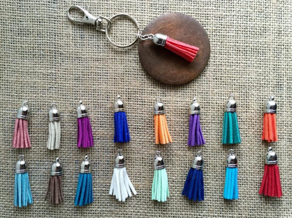 Tassel key ring $9.95