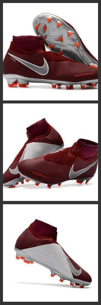 Scarpe Per Gli Uomini Nike Phantom Vision Elite DF FG Vino