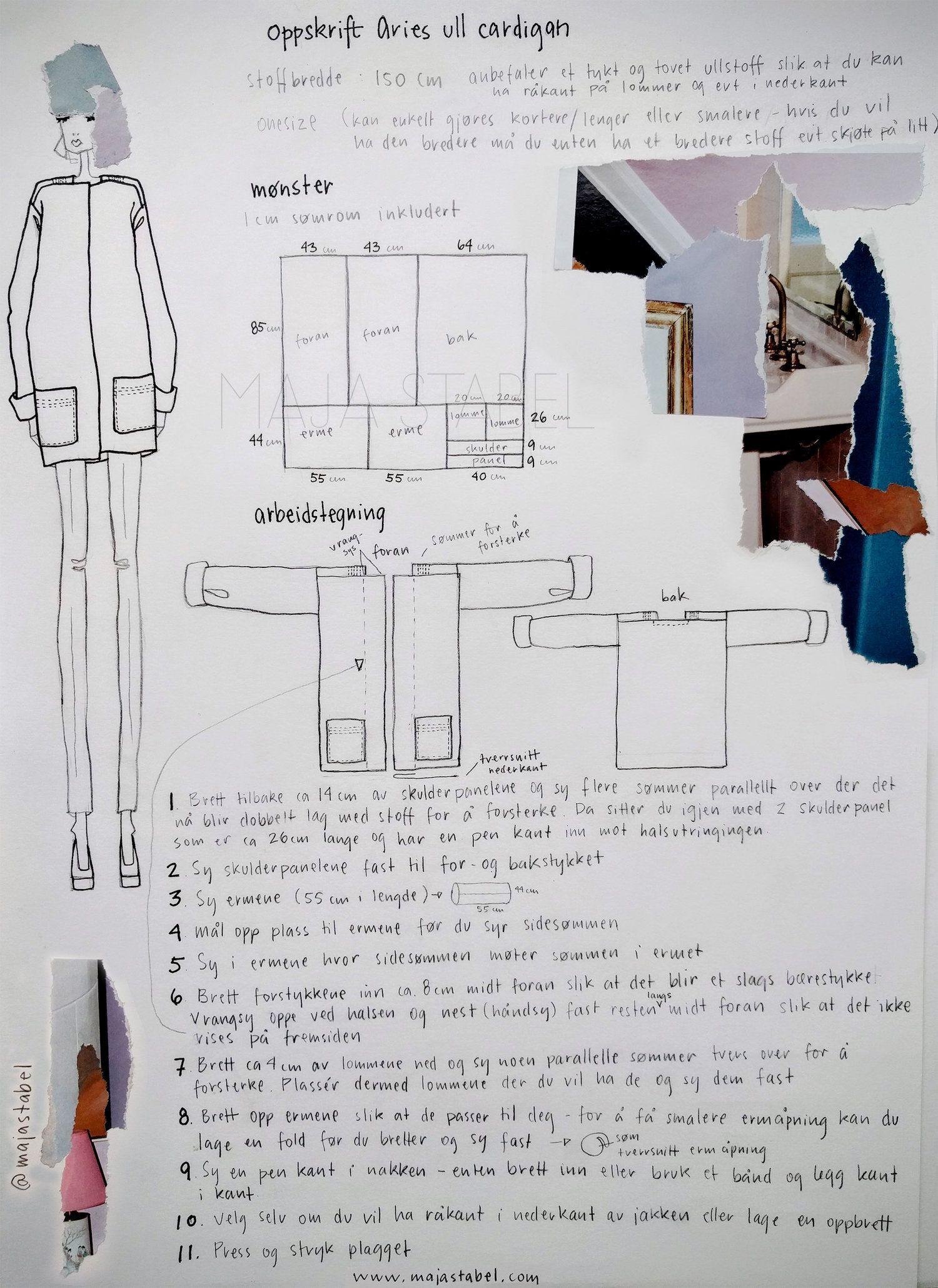 Maja Stabel | stitches & seams | Sewing, Zero waste, Sewing patterns