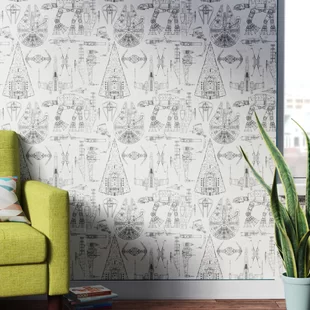 Peel And Stick Removable Wallpaper You Ll Love In 2020 Wayfair Peel And Stick Wallpaper Star Wars Themed Bedroom Star Wars Themed Nursery