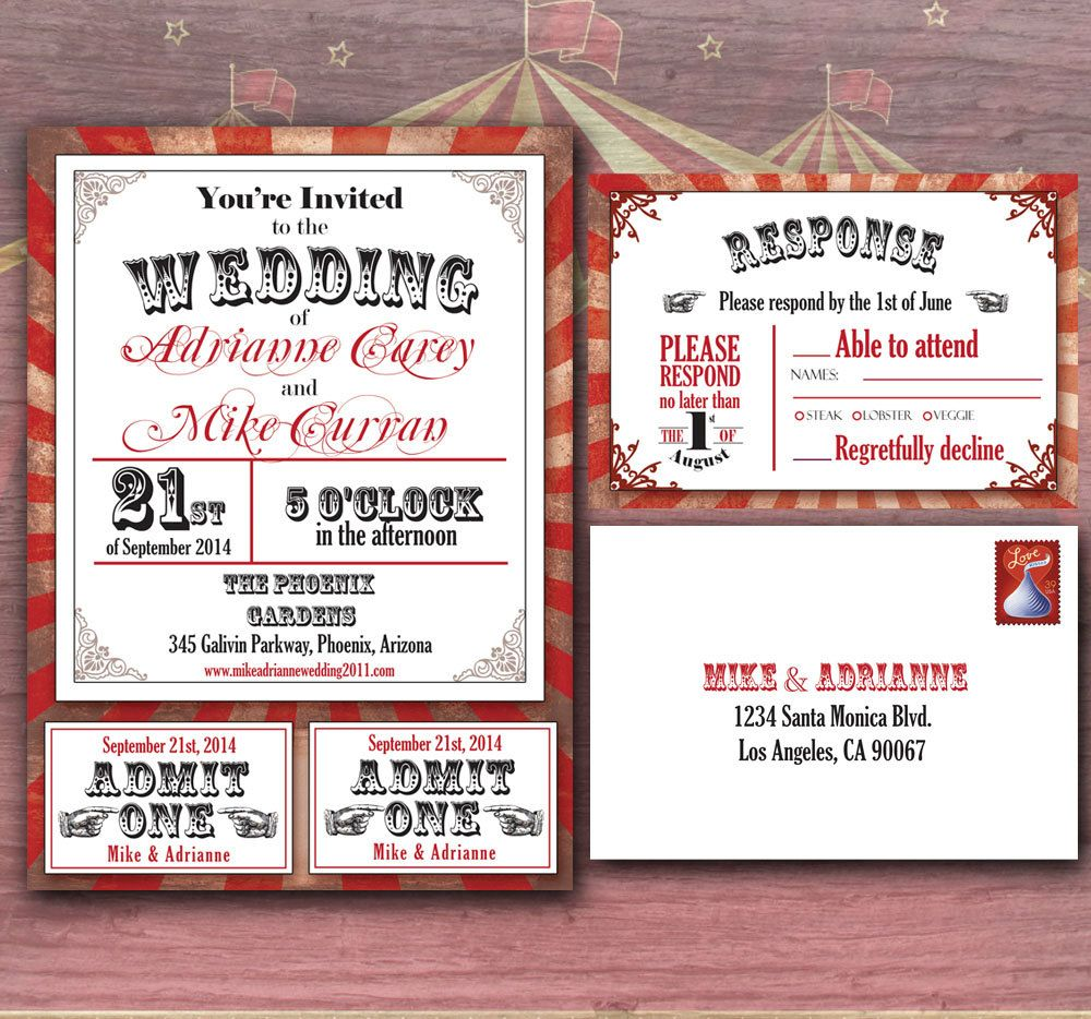 Amazing Circus Themed Wedding Ideas Composition - Wedding Idea 2018 ...