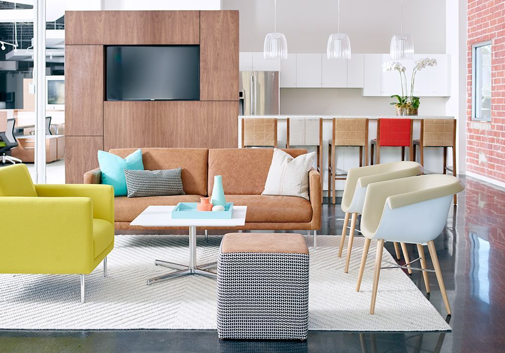 Cubic Lounge Collier Side And Modello Barstools By