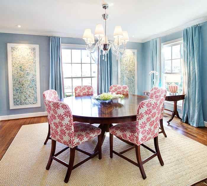 Cómo Comprar la Mesa Correcta para tu Casa | Comedor azul ...